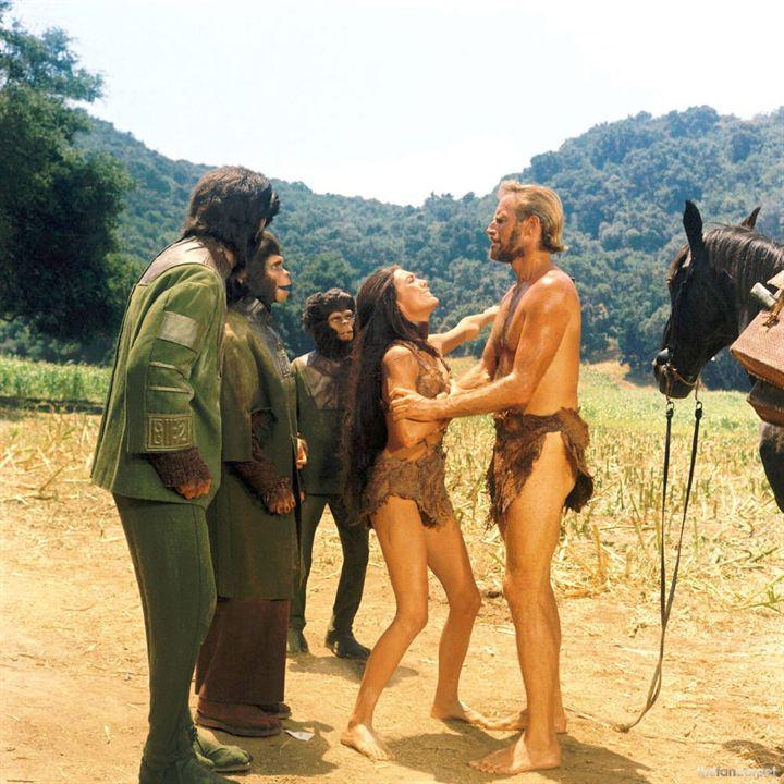 La Planète des singes : Photo Charlton Heston