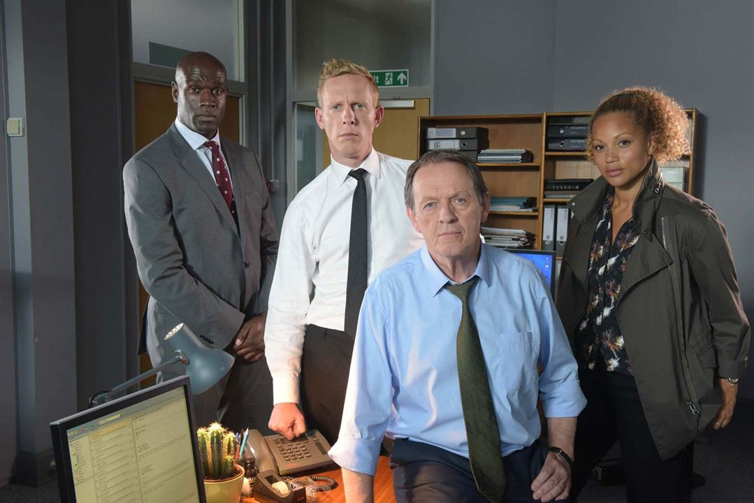 Photo Angela Griffin, Kevin Whately, Laurence Fox, Steve Toussaint