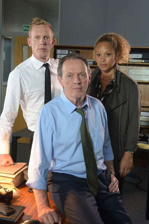 Photo Angela Griffin, Kevin Whately, Laurence Fox