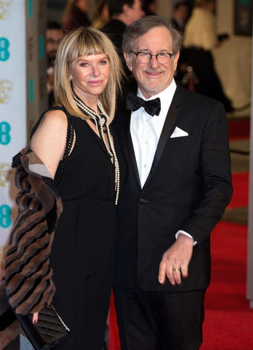 Photo promotionnelle Kate Capshaw, Steven Spielberg