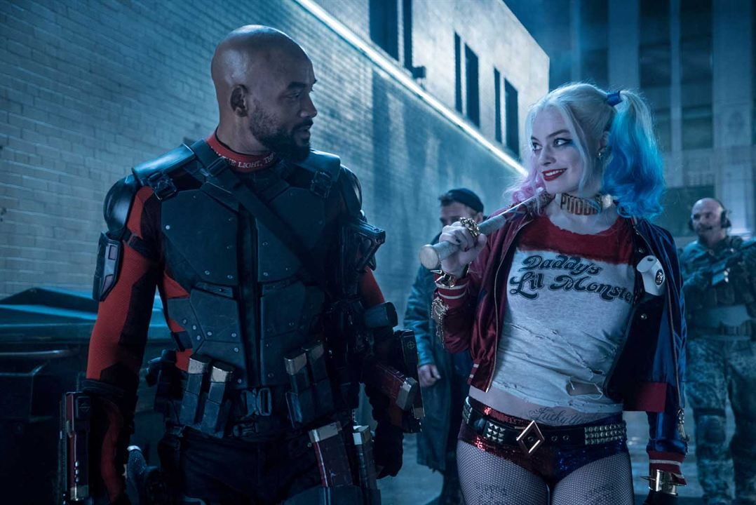 Suicide Squad : Photo Margot Robbie, Will Smith