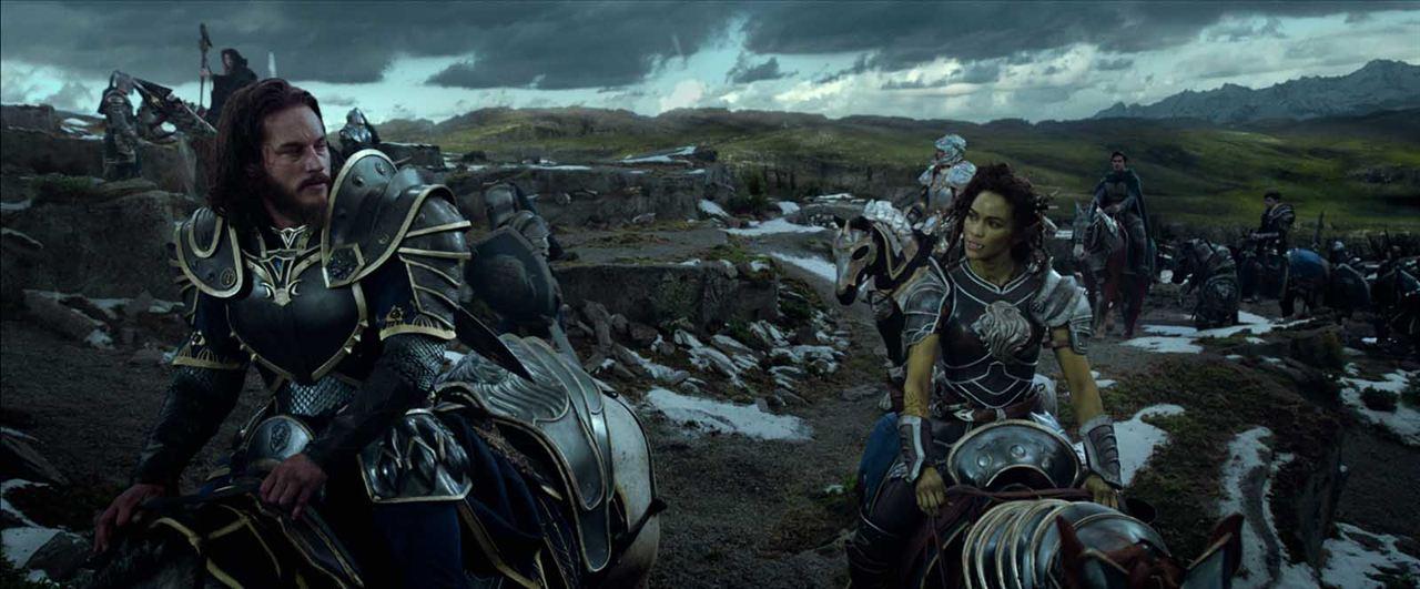 Warcraft : Le commencement : Photo Paula Patton, Travis Fimmel