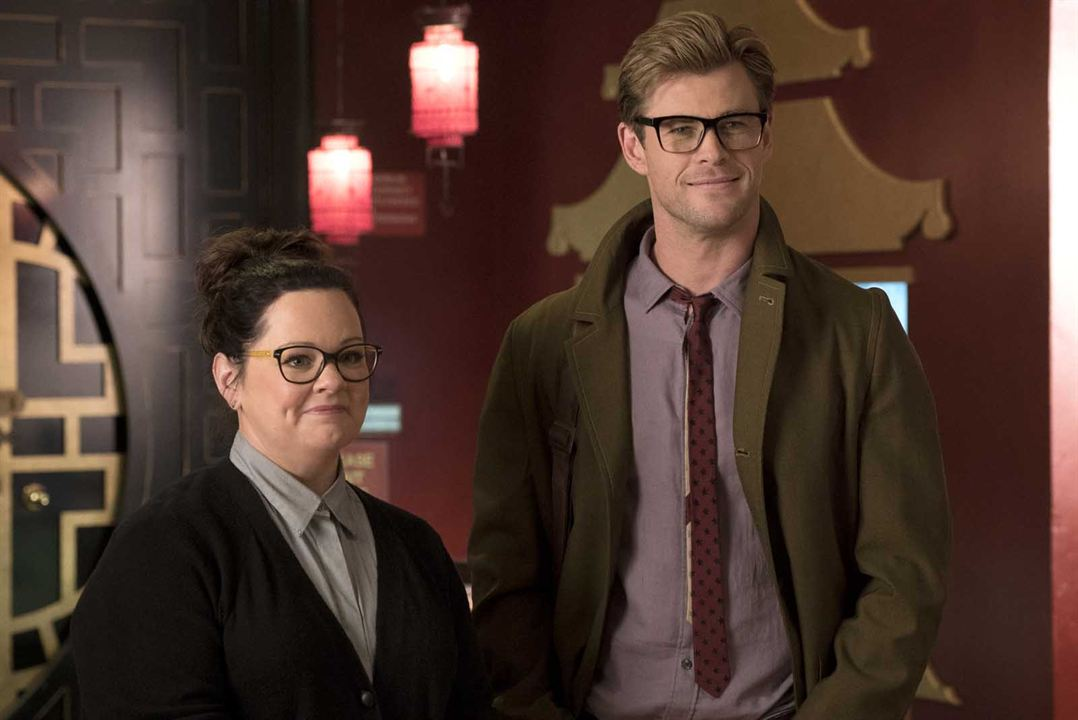 S.O.S. Fantômes : Photo Chris Hemsworth, Melissa McCarthy
