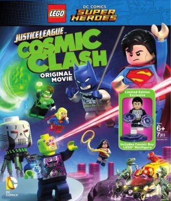 Lego DC Comics Super Heroes: Justice League - Cosmic Clash : Affiche