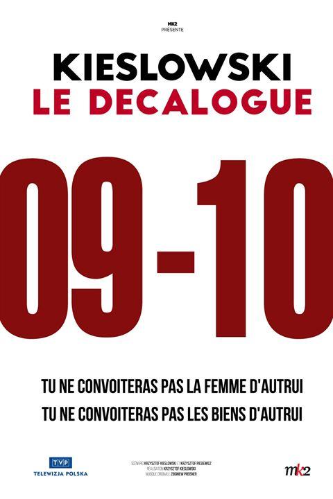 Décalogue 9, Tu ne convoiteras pas la femme d'autrui - Décalogue 10, Tu ne convoiteras pas les biens d'autrui : Affiche