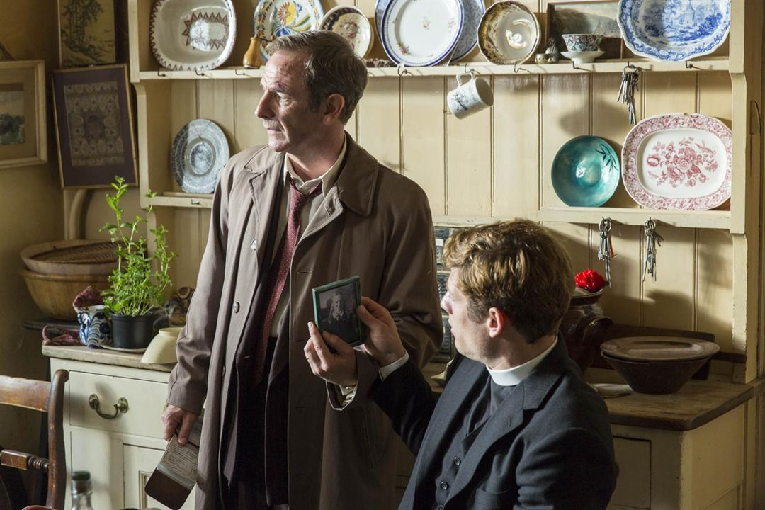 Photo James Norton, Robson Green