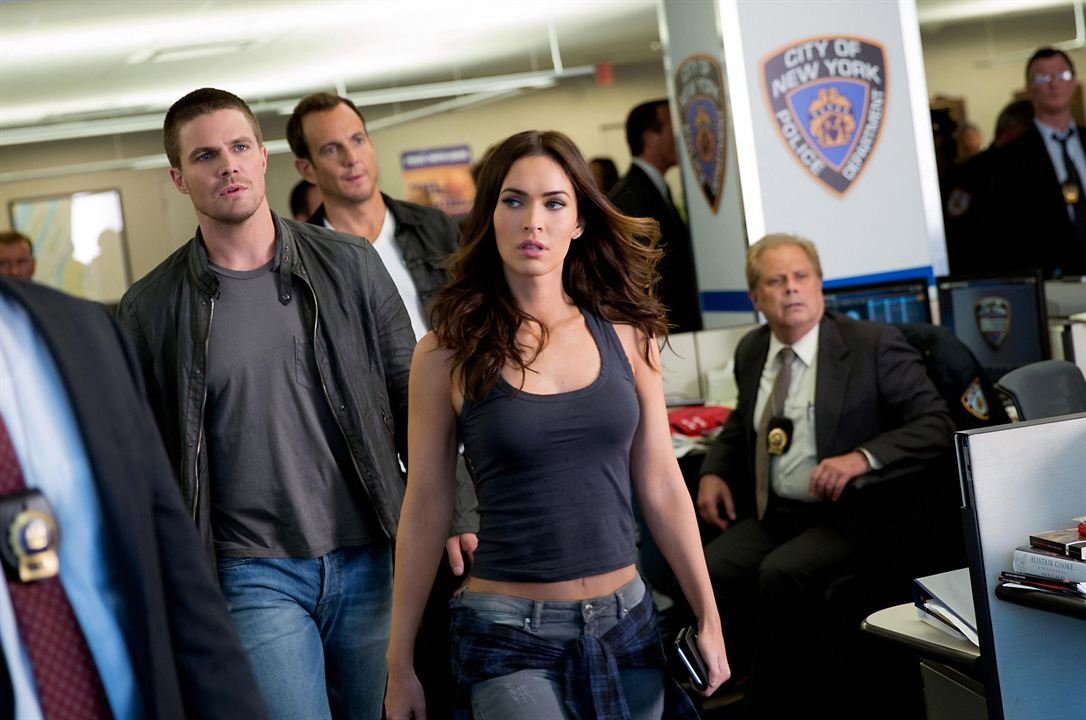 Ninja Turtles 2 : Photo Megan Fox, Stephen Amell, Will Arnett