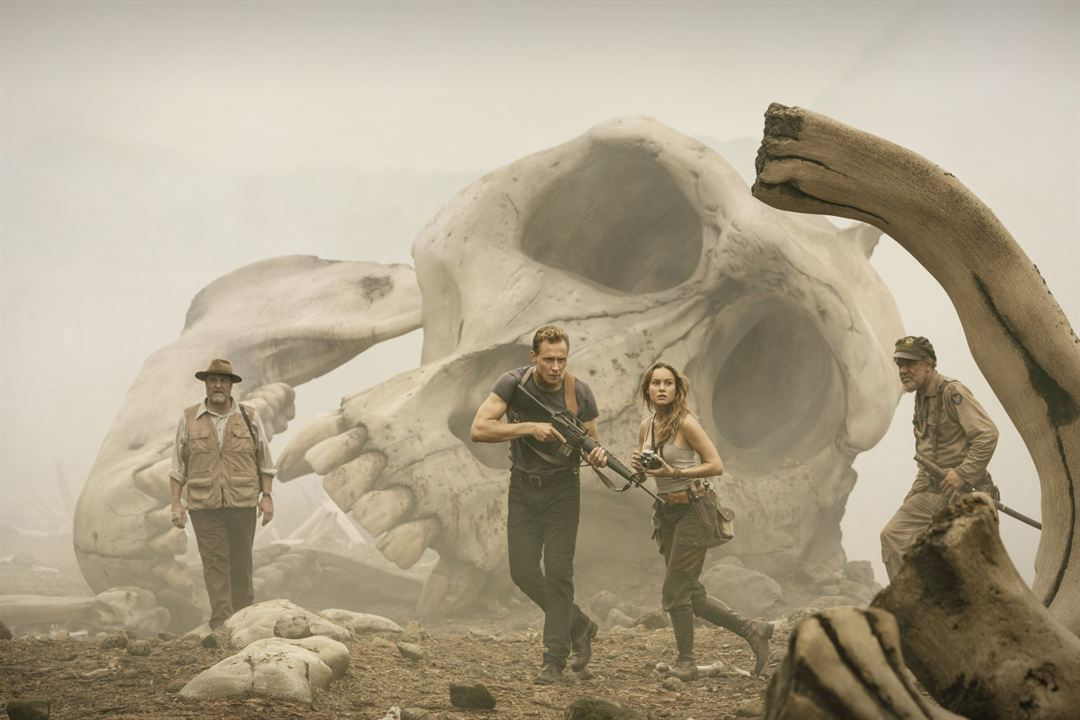 Kong: Skull Island : Photo Brie Larson, John C. Reilly, John Goodman, Tom Hiddleston