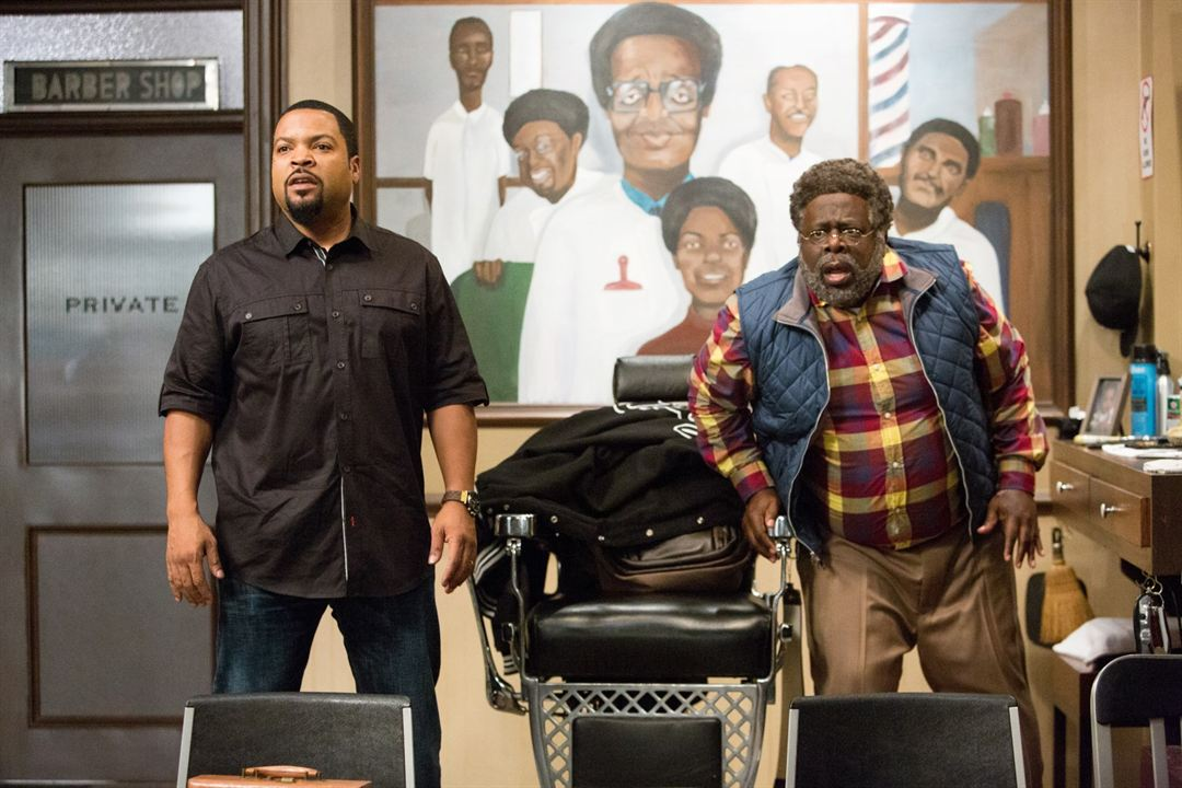 Barbershop: The Next Cut : Photo Cedric The Entertainer, Ice Cube
