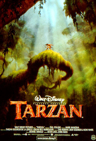Tarzan : Affiche