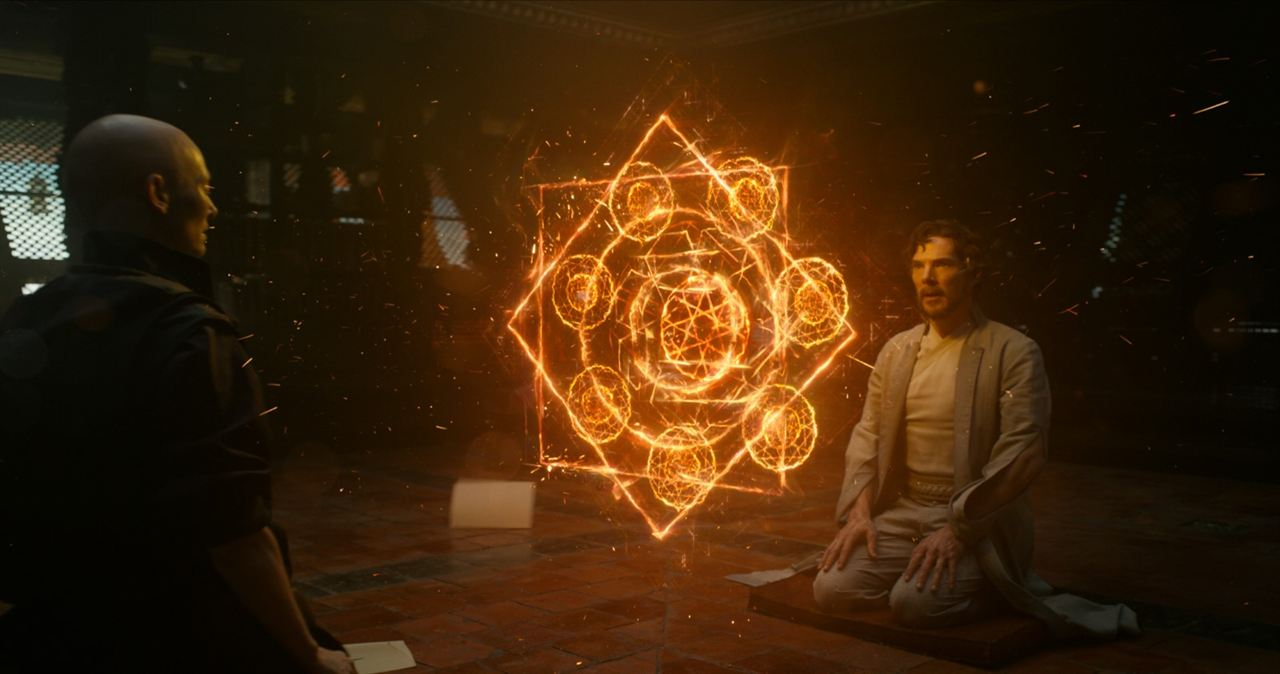 Doctor Strange : Photo Benedict Cumberbatch, Tilda Swinton