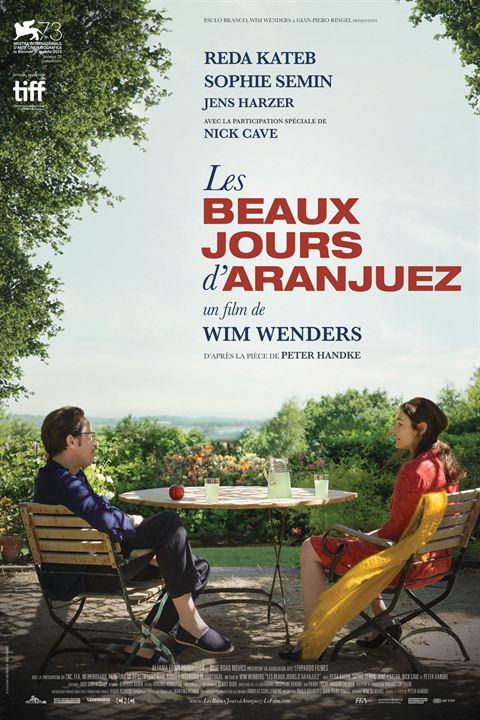 Les Beaux Jours d'Aranjuez : Affiche