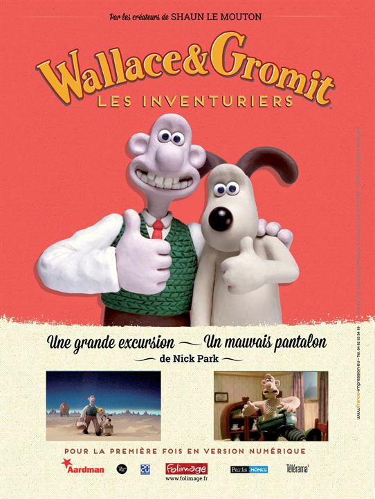 Wallace & Gromit : Les Inventuriers FRENCH DVDRiP 2016