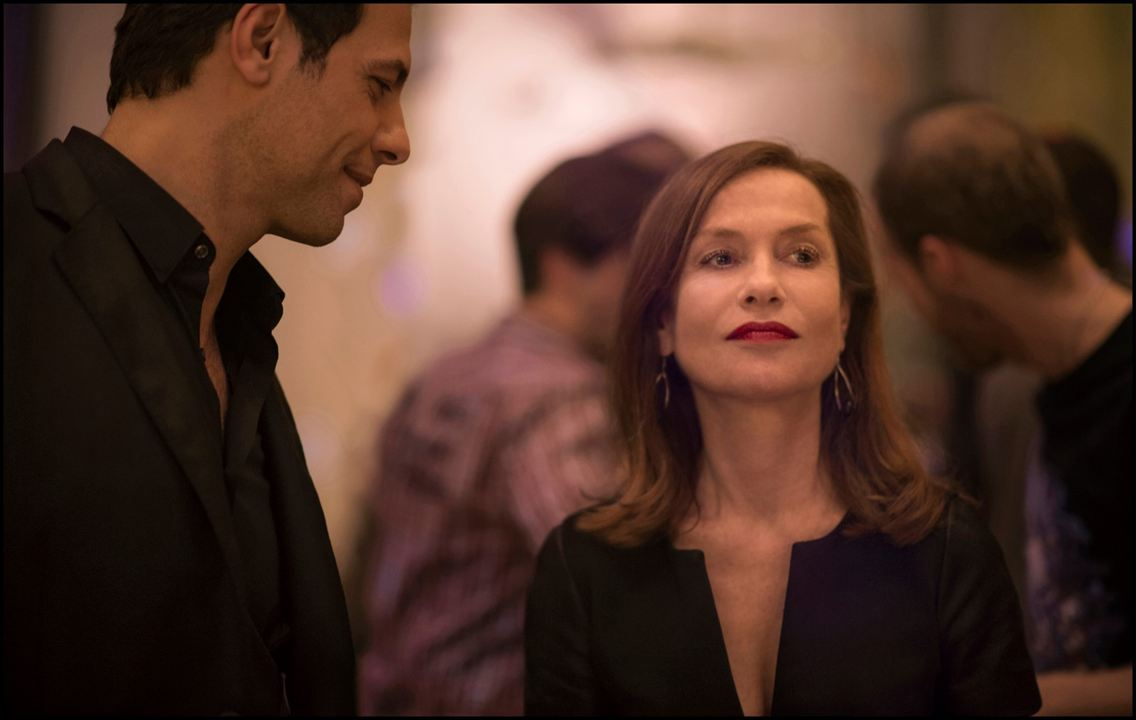 Photo Isabelle Huppert, Laurent Lafitte