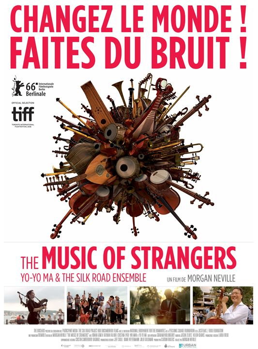 The Music of Strangers : Affiche