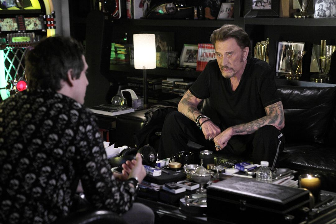 photo de johnny hallyday rock 39 n roll photo guillaume canet johnny hallyday allocin. Black Bedroom Furniture Sets. Home Design Ideas