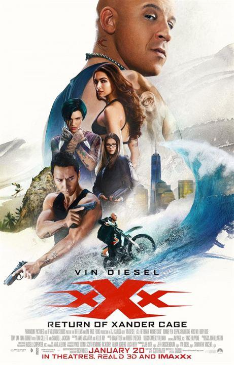 xXx : Reactivated : Affiche