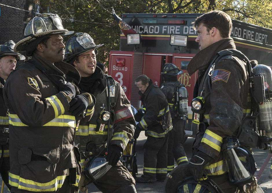 Photo Eamonn Walker, Jesse Spencer, Taylor Kinney