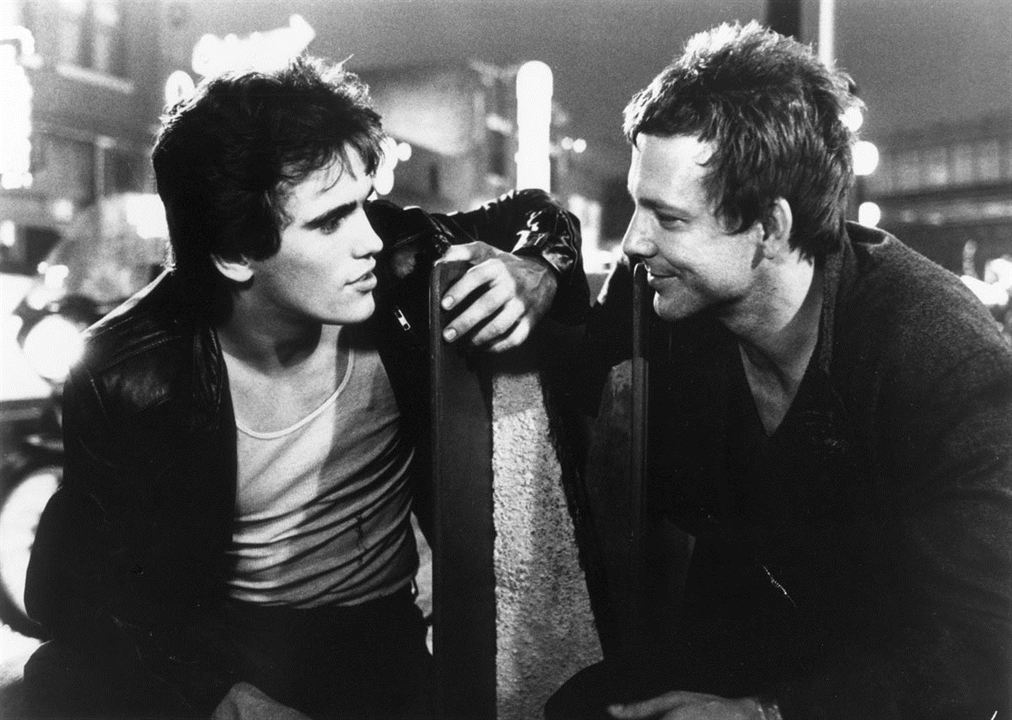Rusty James : Photo Matt Dillon, Mickey Rourke