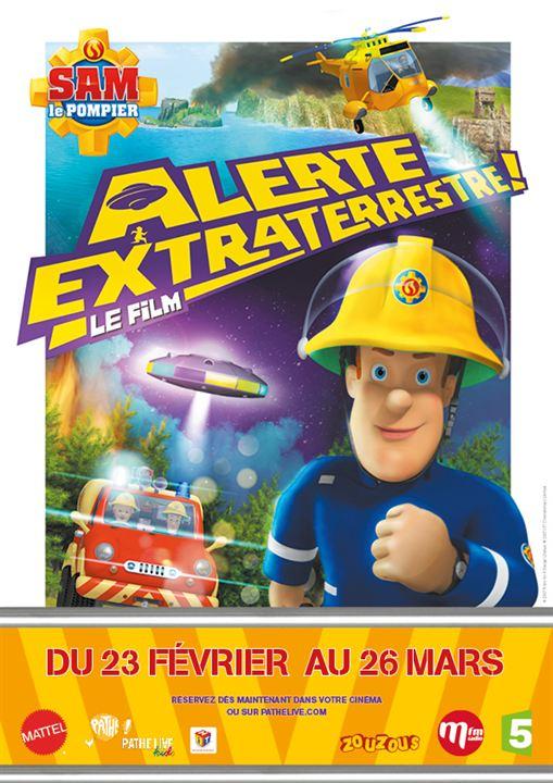 Sam le pompier : Alerte extraterrestre - Le film : Affiche