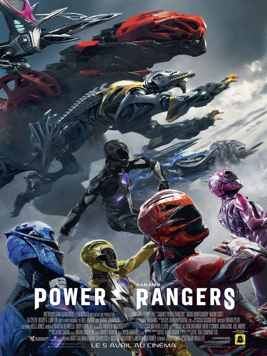 Power Rangers : Affiche