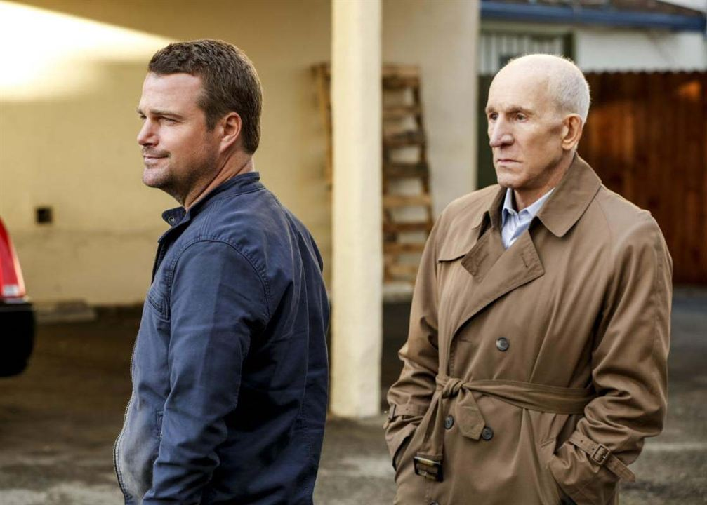 Photo Chris O'Donnell, Daniel J. Travanti