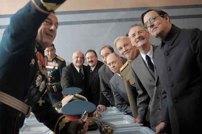 La Mort de Staline : Photo Jason Isaacs, Jeffrey Tambor, Michael Palin, Simon Russell Beale, Steve Buscemi