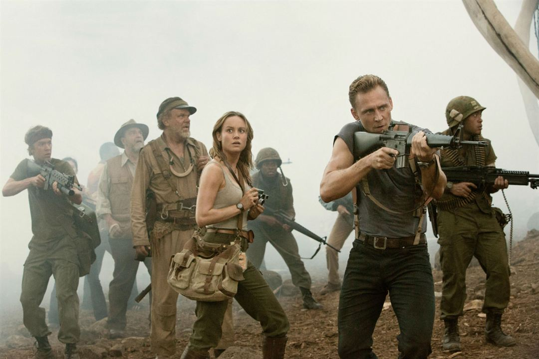 Kong: Skull Island : Photo Brie Larson, John C. Reilly, John Goodman, Thomas Mann (II), Tom Hiddleston
