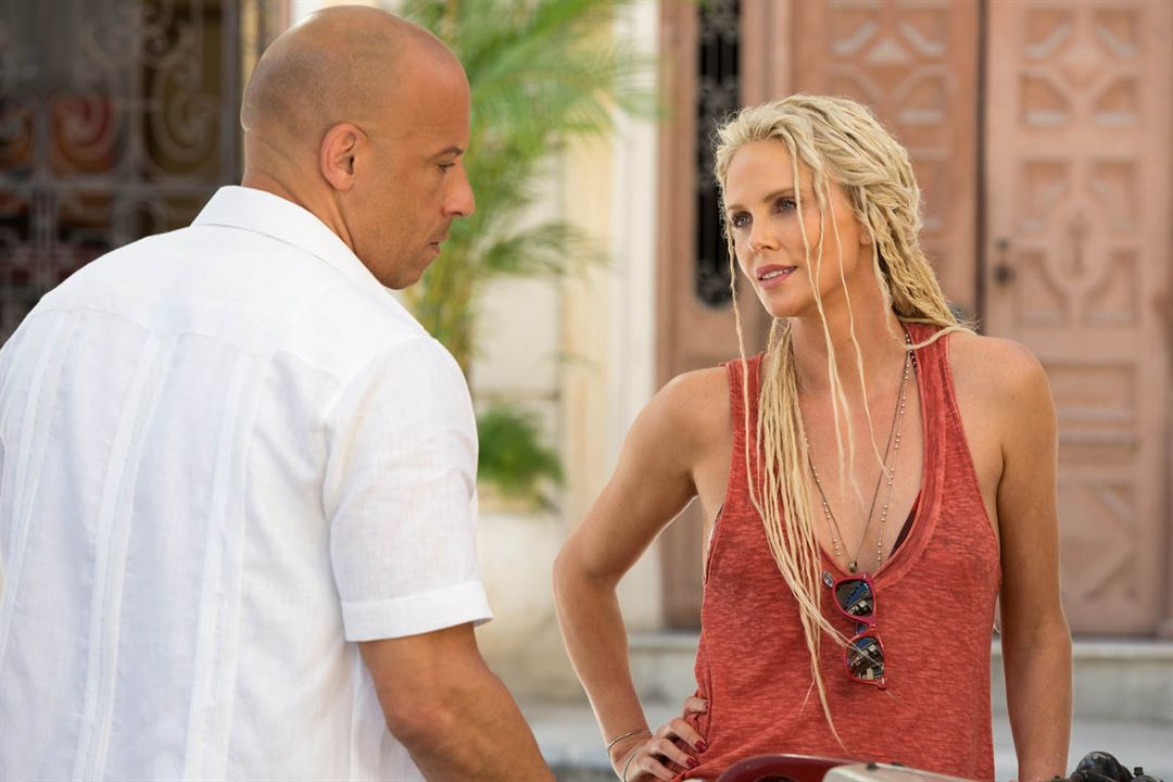 Fast & Furious 8 : Photo Charlize Theron, Vin Diesel