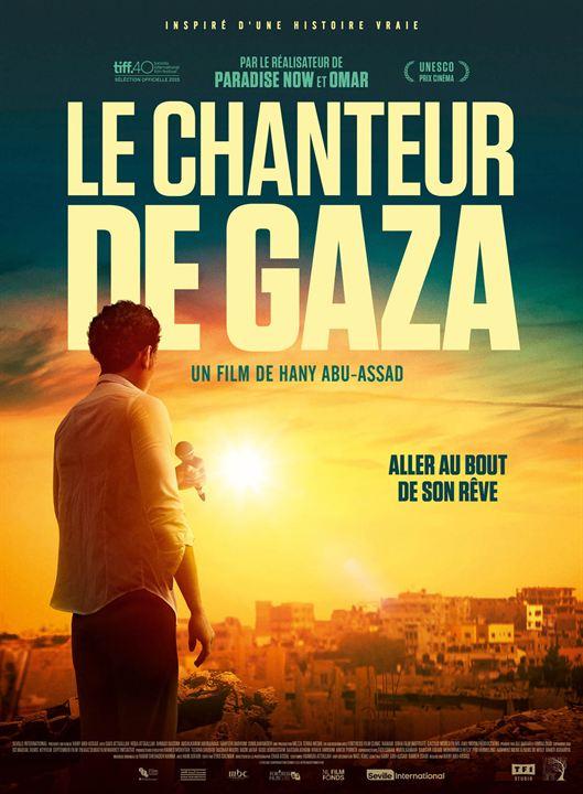 Le Chanteur de Gaza : Affiche