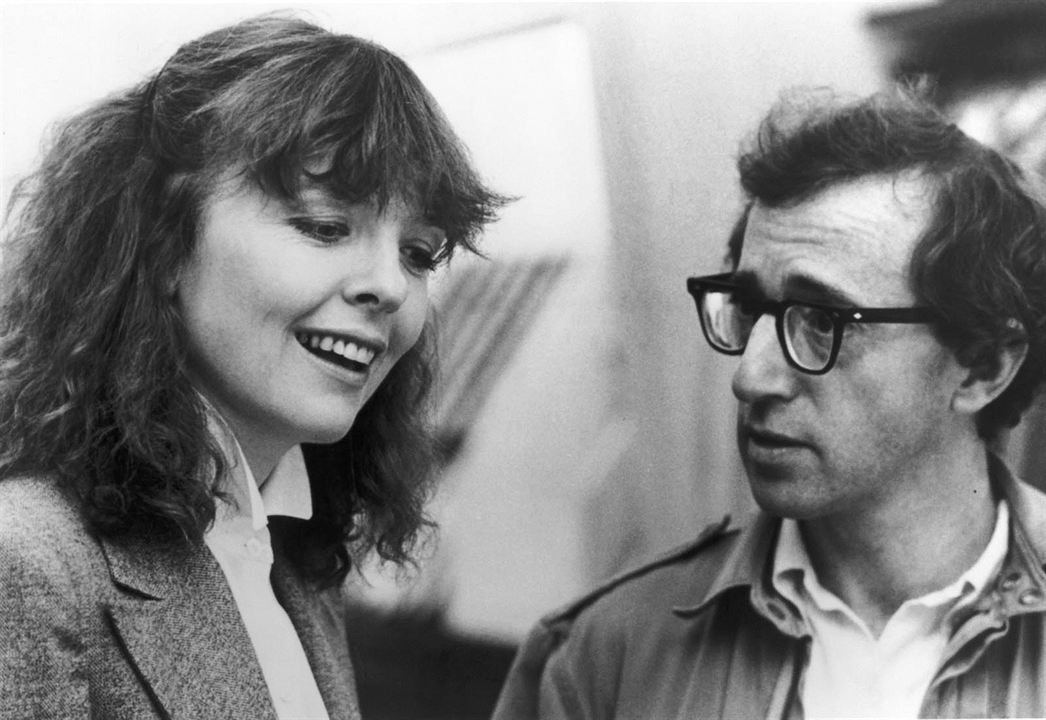 Manhattan : Photo Diane Keaton, Woody Allen