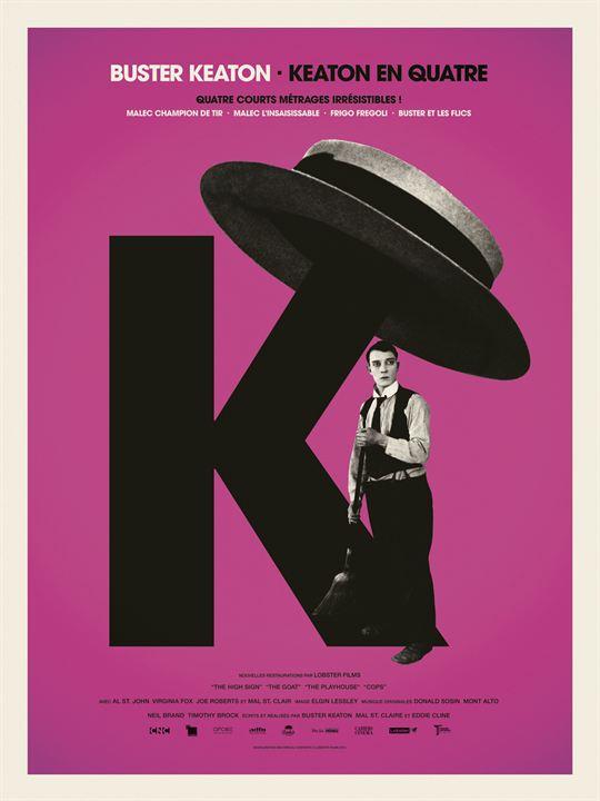 Keaton en quatre : Affiche