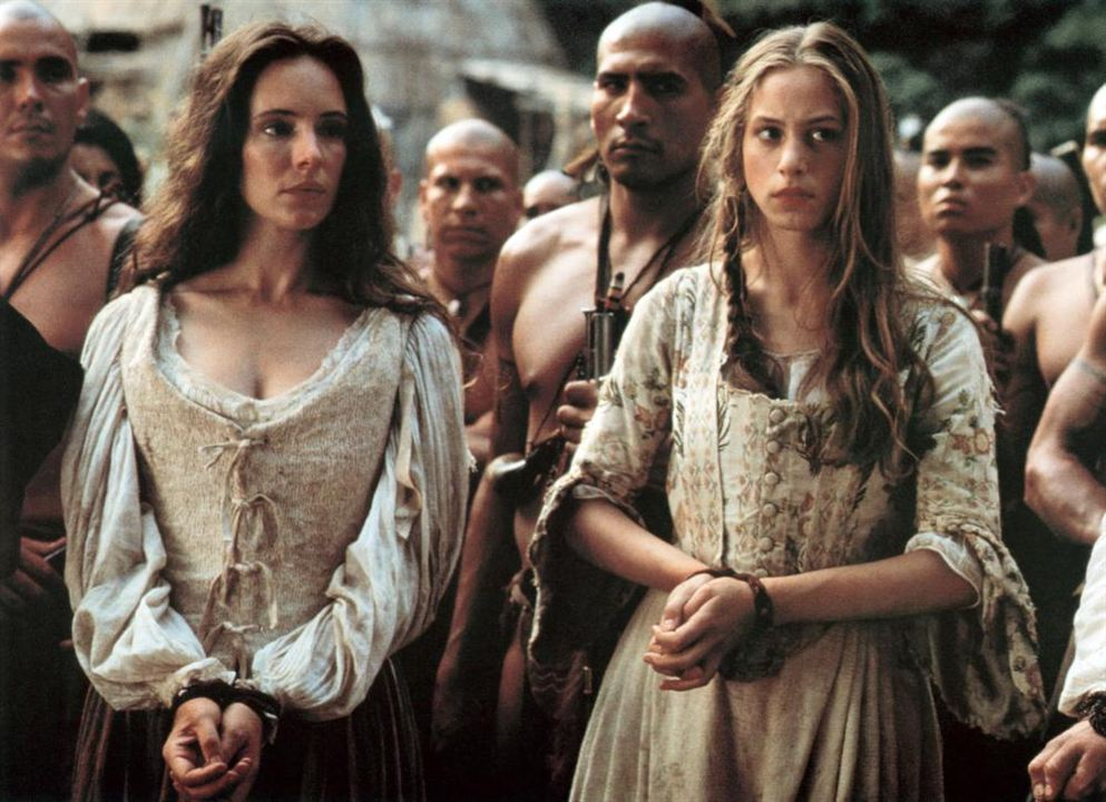 Le Dernier des Mohicans : Photo Jodhi May, Madeleine Stowe