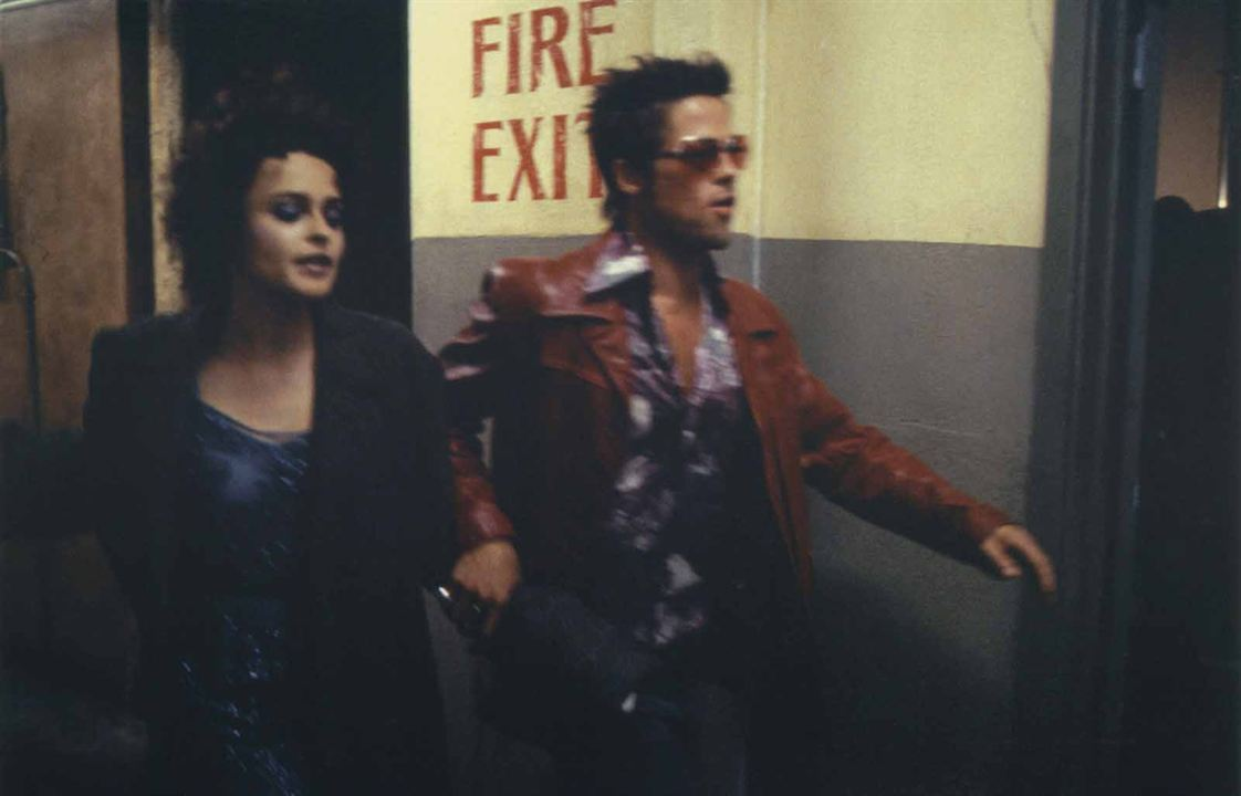 Fight Club : Photo Brad Pitt, Helena Bonham Carter