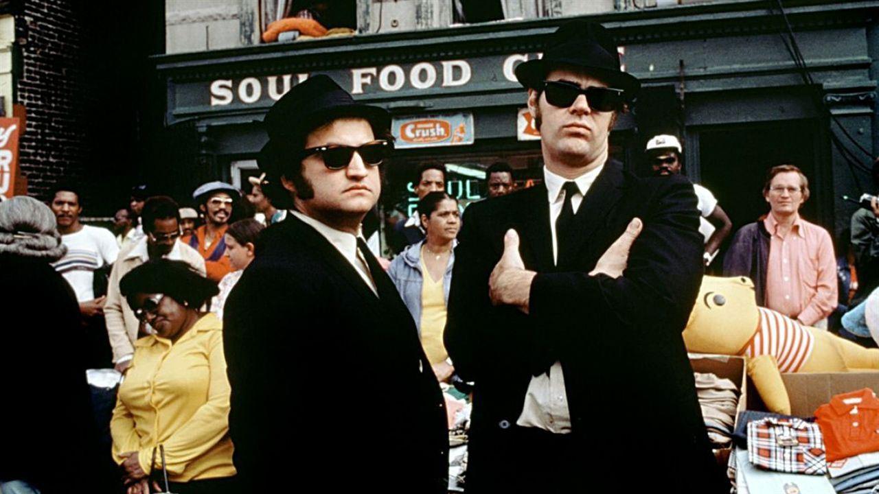 The Blues Brothers : Photo Dan Aykroyd, John Belushi