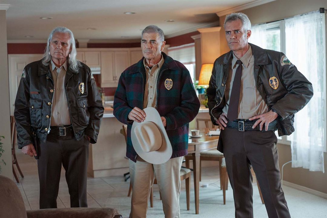 Photo Dana Ashbrook, Michael Horse, Robert Forster