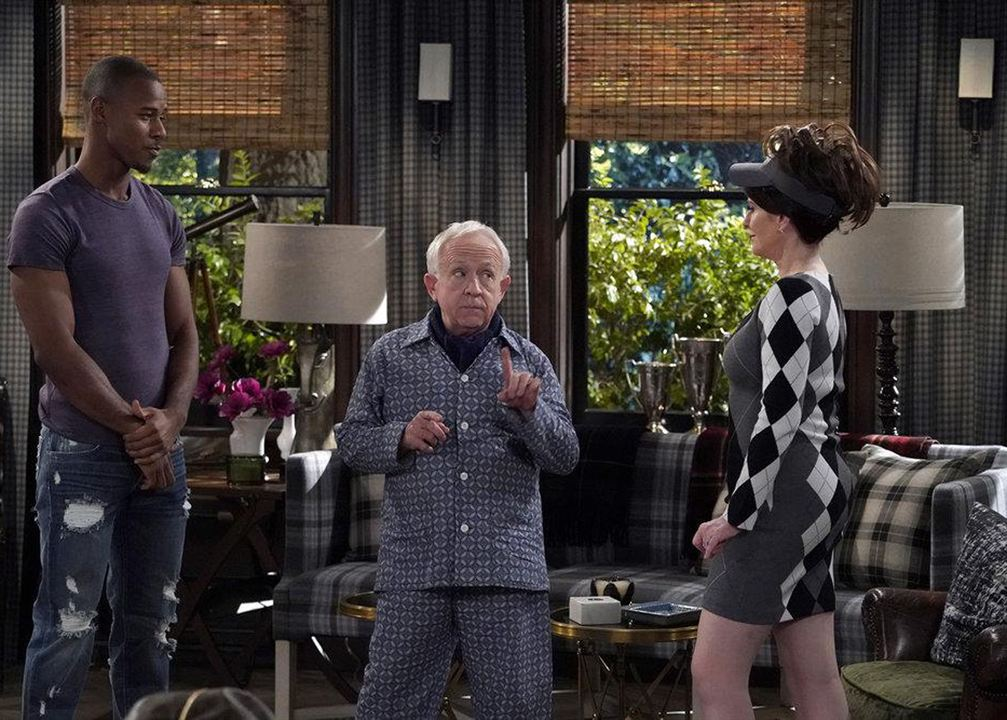 Photo Justin Shaw, Leslie Jordan, Megan Mullally