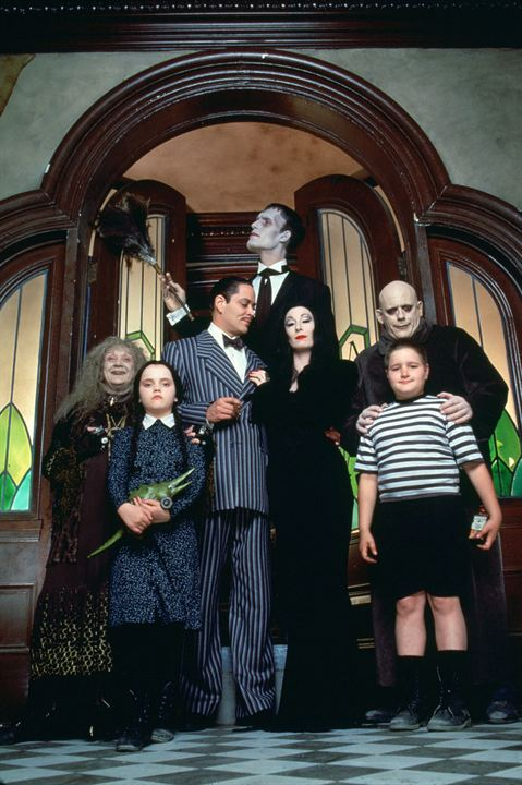 La Famille Addams : Photo Anjelica Huston, Carel Struycken, Christina Ricci, Christopher Lloyd, Jimmy Workman