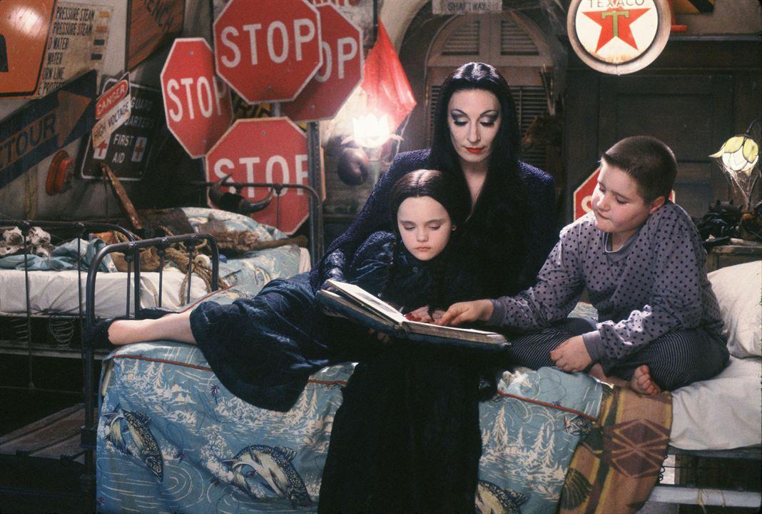 La Famille Addams : Photo Anjelica Huston, Christina Ricci, Jimmy Workman