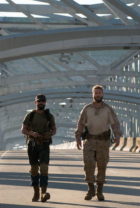 Man Down : Photo Jai Courtney, Shia LaBeouf
