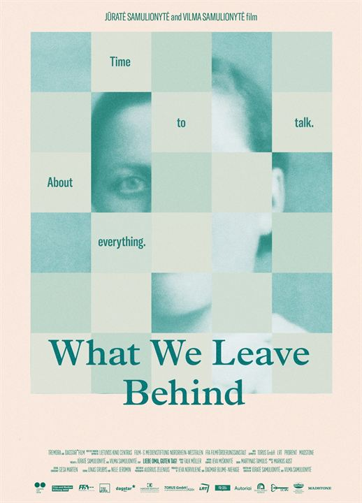What We Leave Behind : Affiche