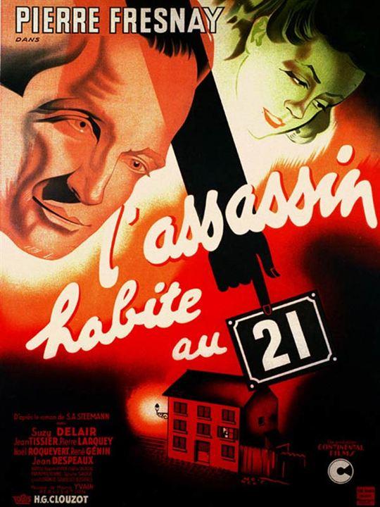 L'Assassin habite au 21 : Affiche