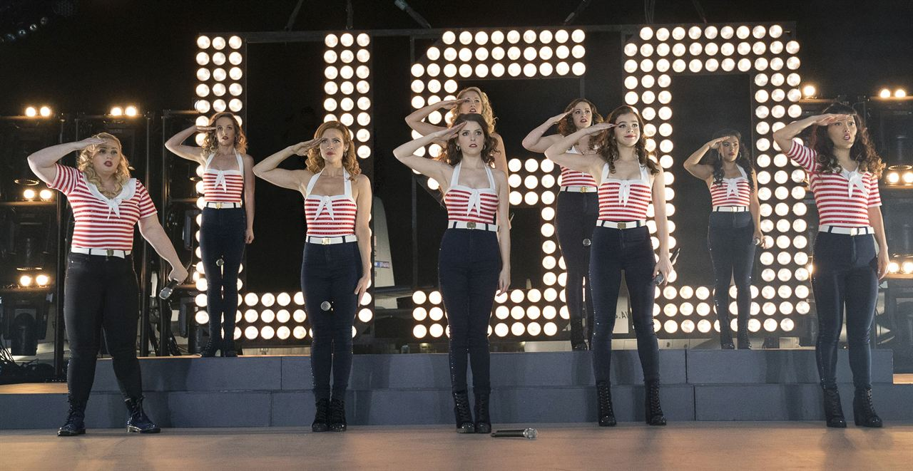 Pitch Perfect 3 : Photo Anna Camp, Anna Kendrick, Brittany Snow, Chrissie Fit, Hailee Steinfeld
