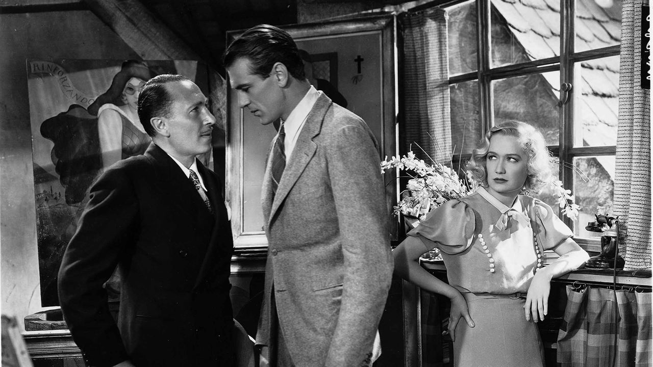 Sérénade à trois : Photo Fredric March, Gary Cooper, Miriam Hopkins