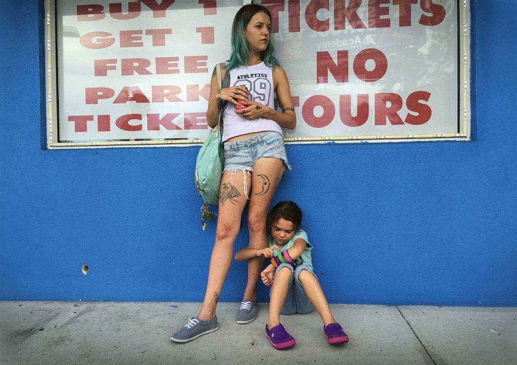 The Florida Project : Photo Bria Vinaite, Brooklynn Prince