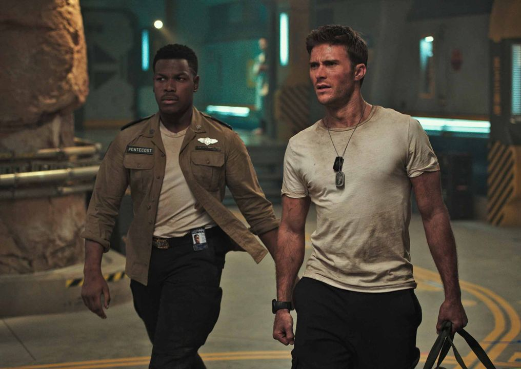 Pacific Rim Uprising : Photo John Boyega, Scott Eastwood