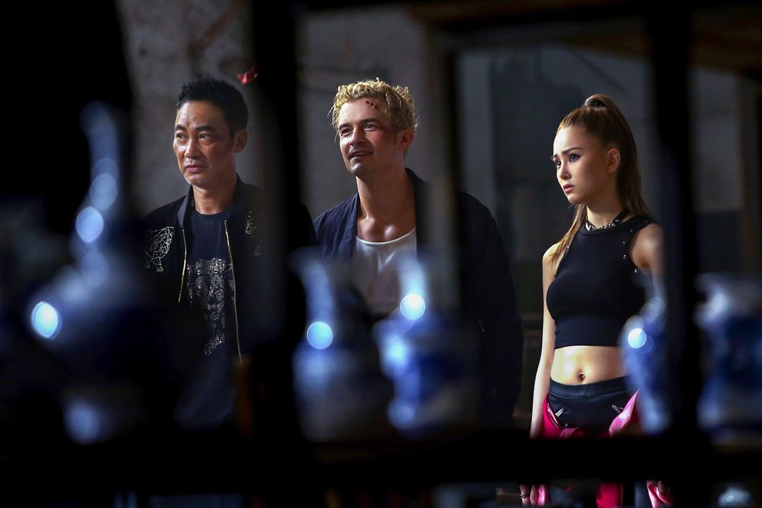 Shanghai Job : Photo Hannah Quinlivan, Orlando Bloom, Simon Yam