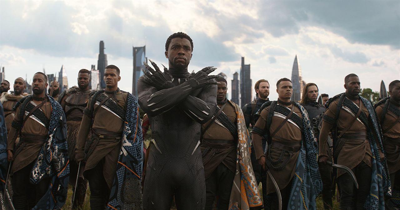 Avengers: Infinity War : Photo Chadwick Boseman