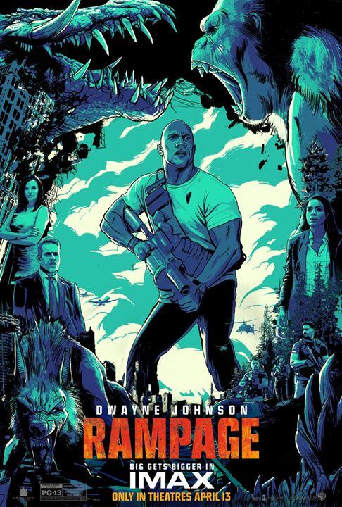 Rampage - Hors de contrôle : Affiche