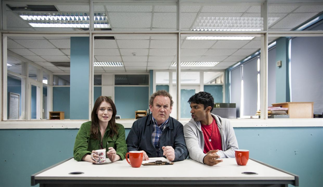 Photo Colm Meaney, Nikesh Patel, Sarah Bolger